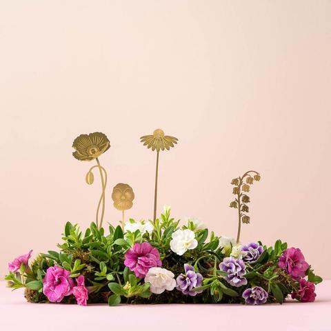 Brass Blooms