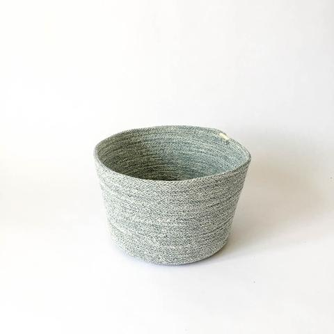 Twig Plants and Pots - Denim concrete indoor plant pot
