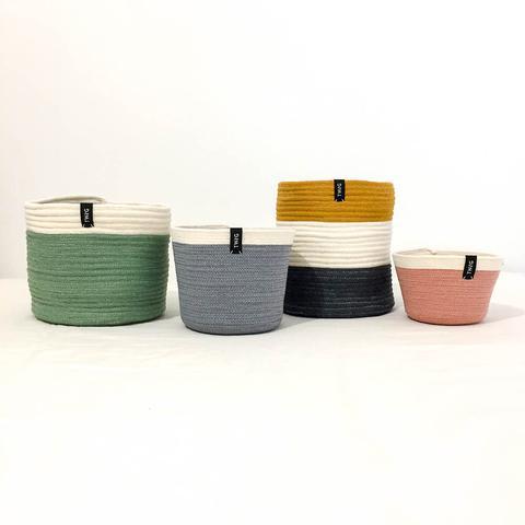 Twig Plants and Pots - Pixie concrete indoor plant pot
