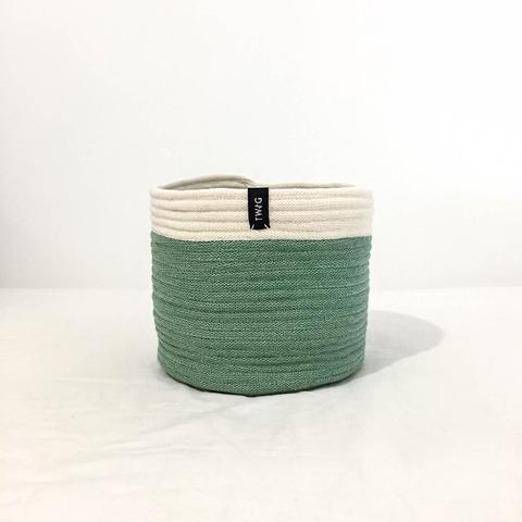 Cotton Pot - Moss