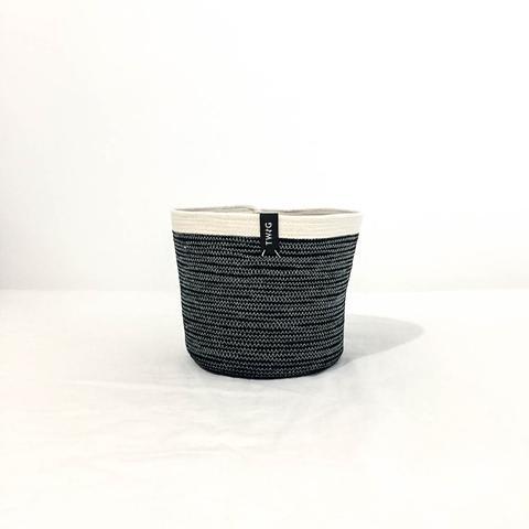 Twig Plants and Pots - Panther concrete indoor plant pot