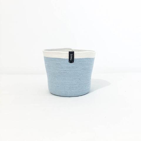 Twig Plants and Pots - Arctic concrete indoor plant pot