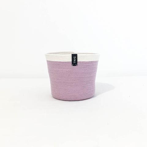 Cotton Pot - Orchid