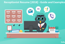 How to Write a Receptionist Resume?