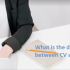 differences-cv-resume