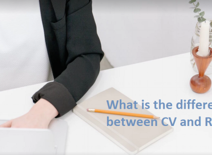 What is the difference between CV and Resume?