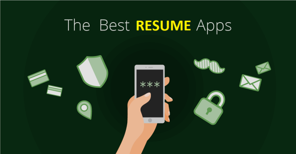 best resume apps 2018 cv examples