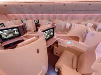 First class interior