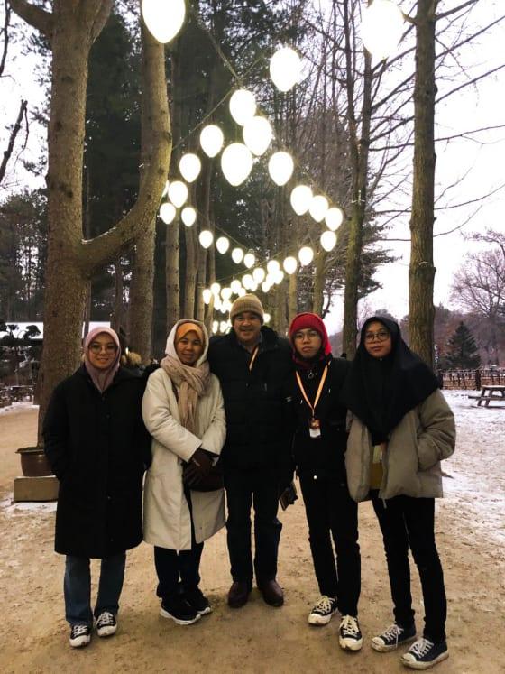 Korea (Musim Sejuk) Hari 1
