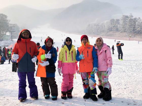 Korea (Musim Sejuk) Hari 2