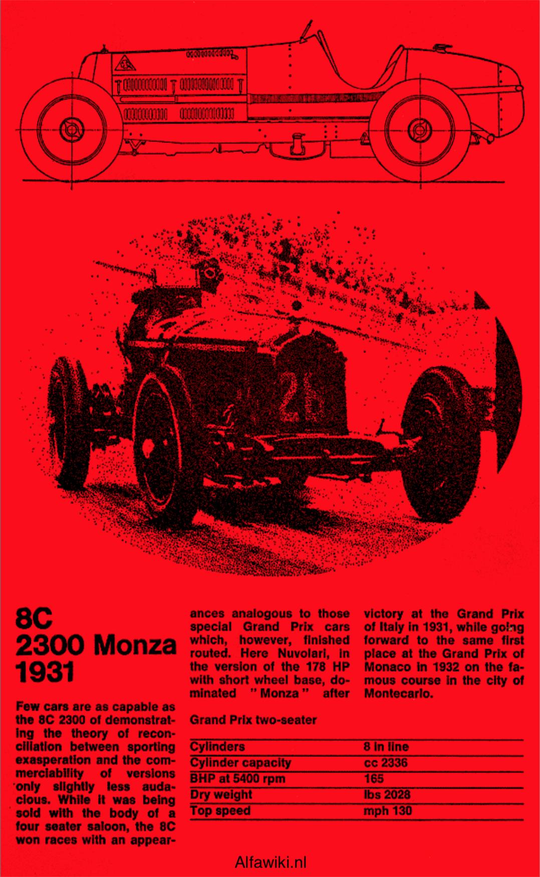 Alfa Romeo 8C flyer
