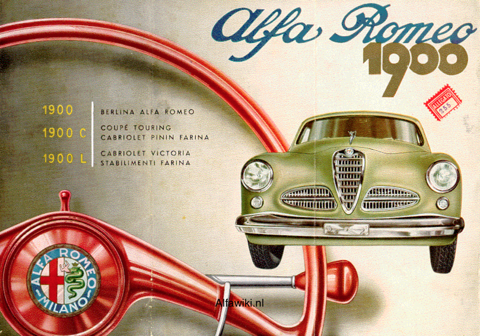 Alfa Romeo 1900 brochure