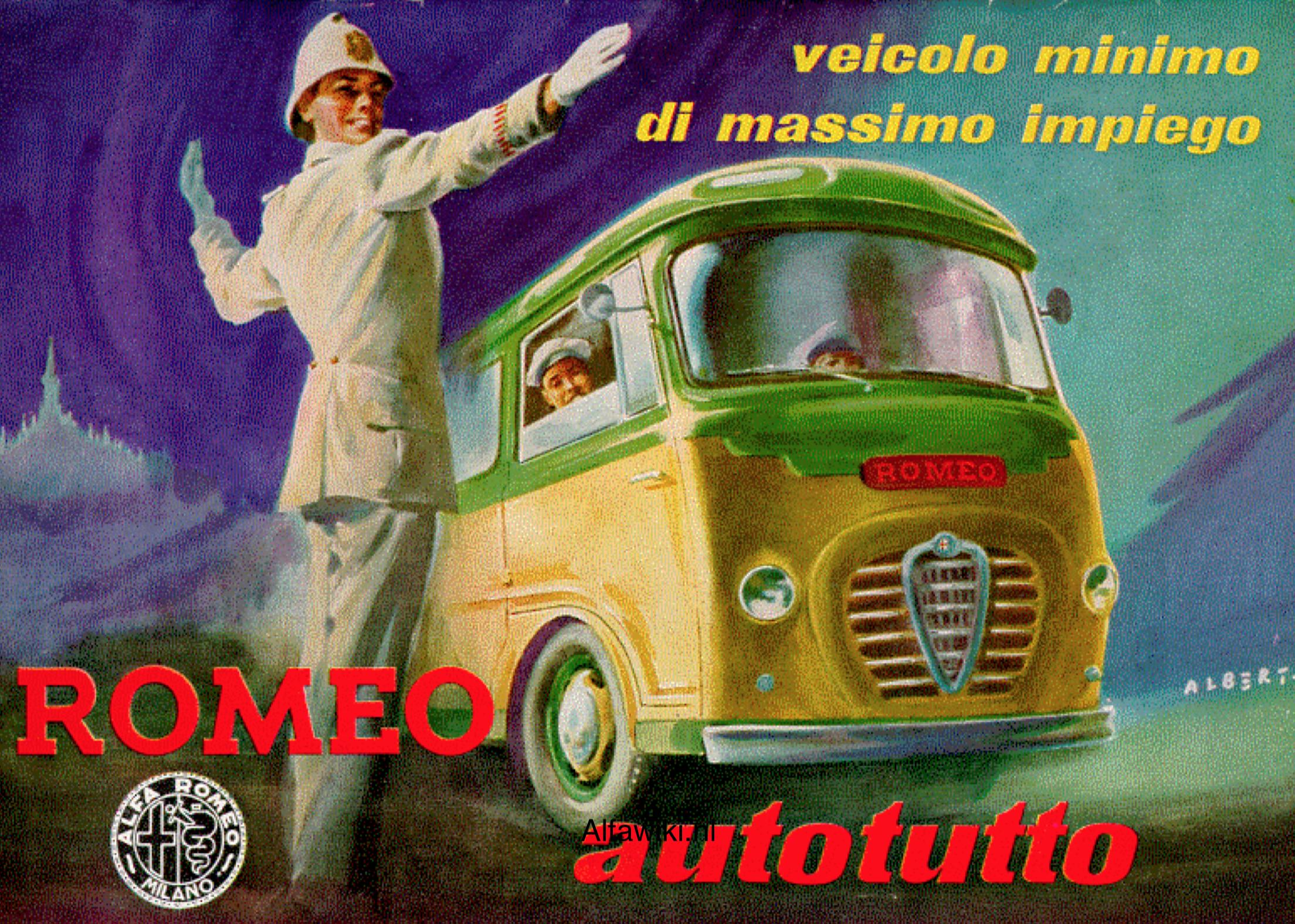 Alfa Romeo Autotutto brochure