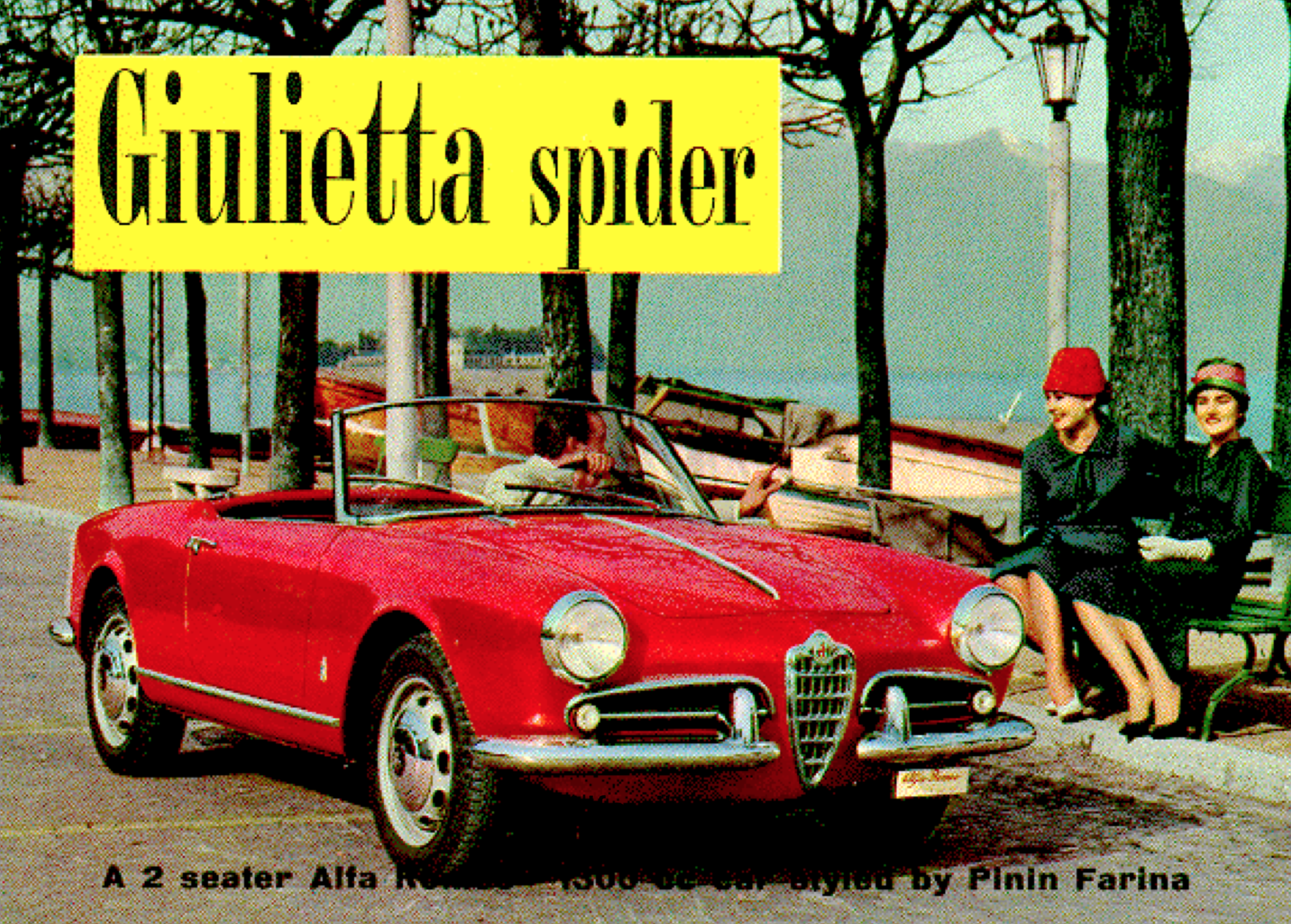 Alfa Romeo Giulietta Spider brochure