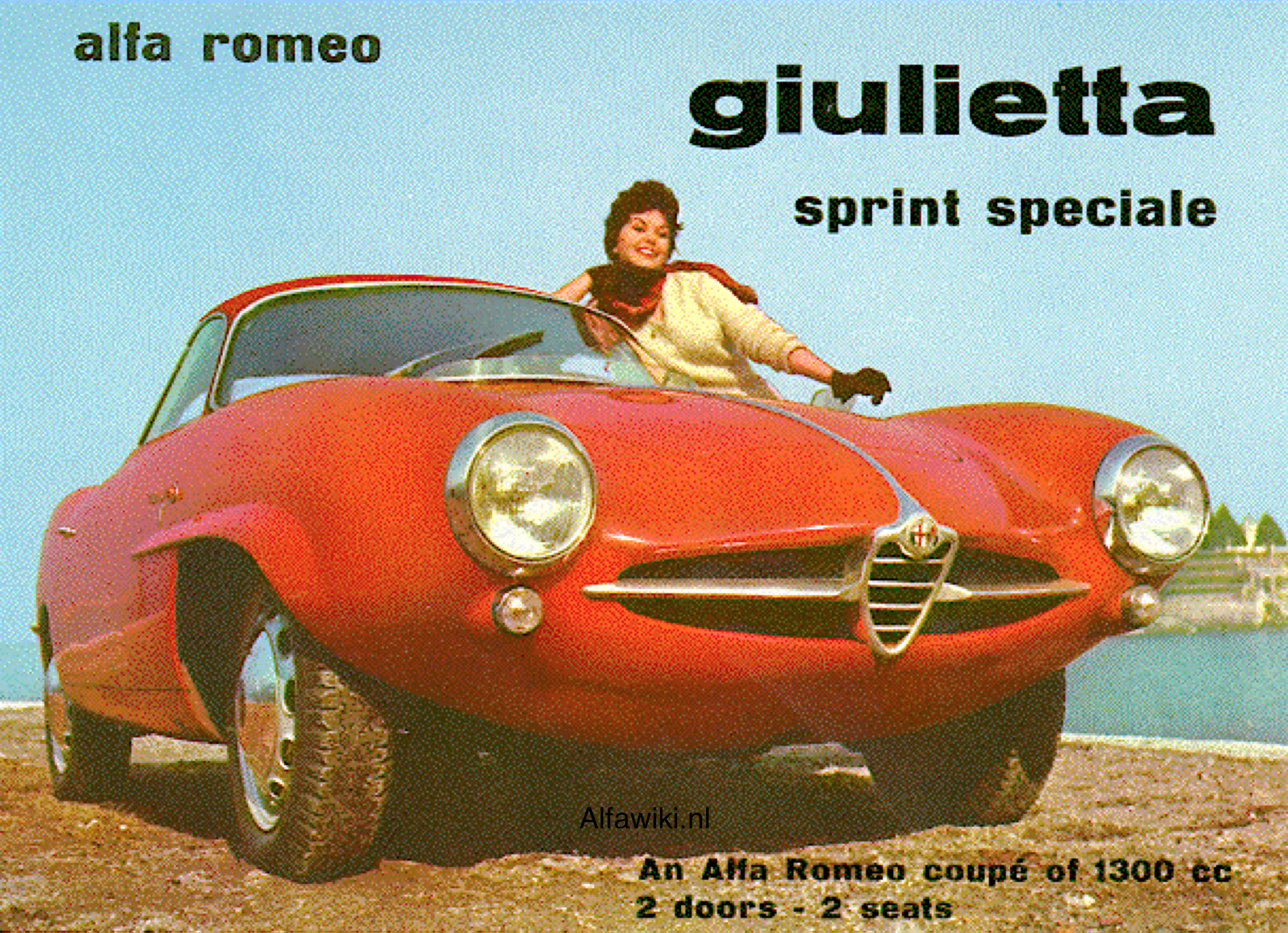 Alfa Romeo Giulietta SS brochure