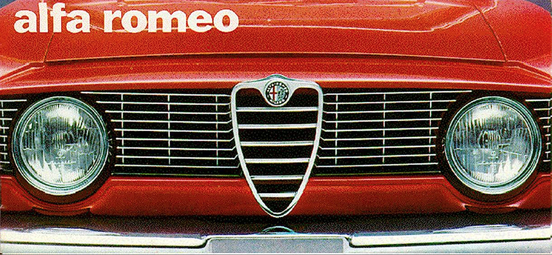Alfa Romeo Giulia 1600TI brochure