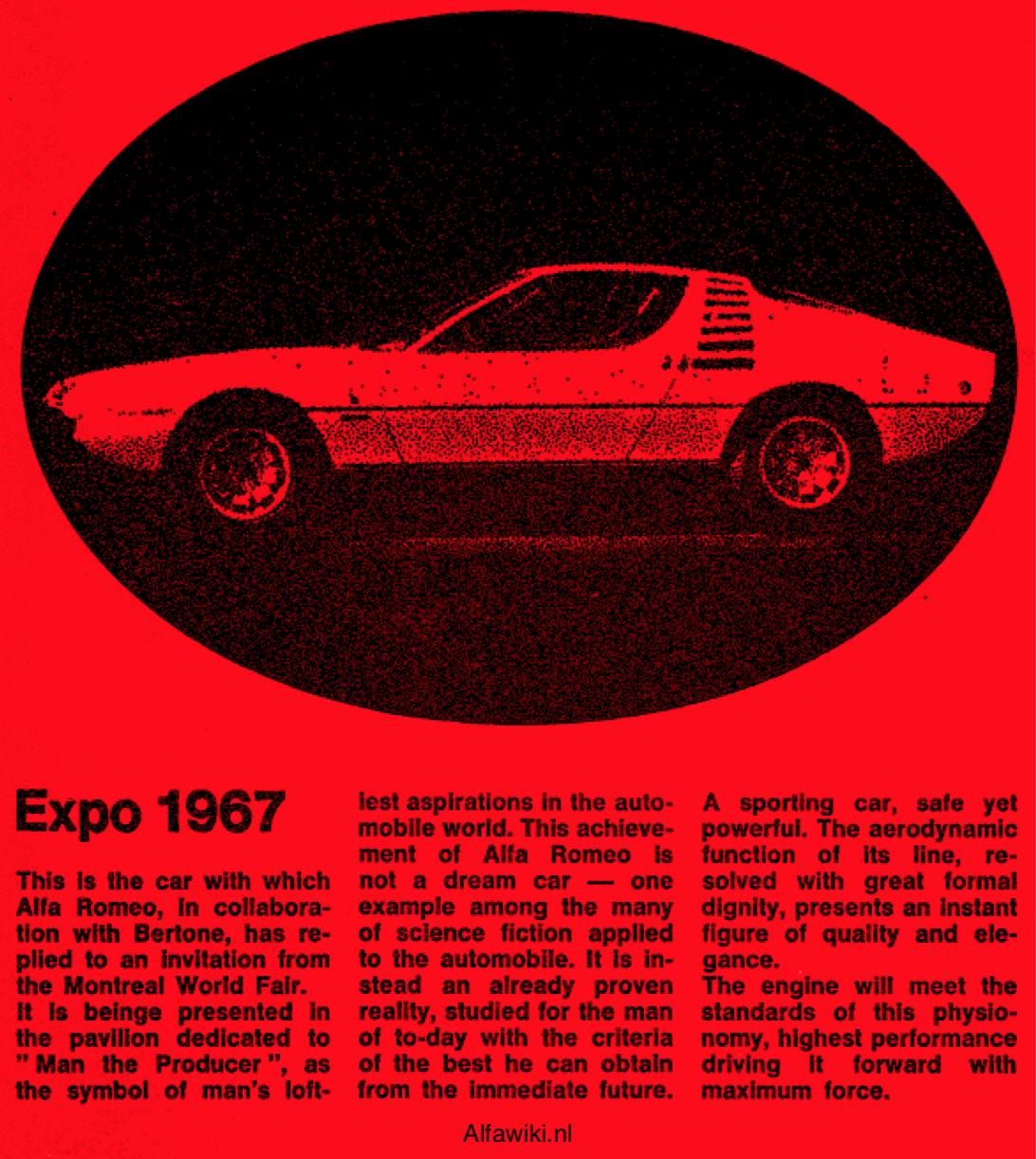 Alfa Romeo Expo flyer