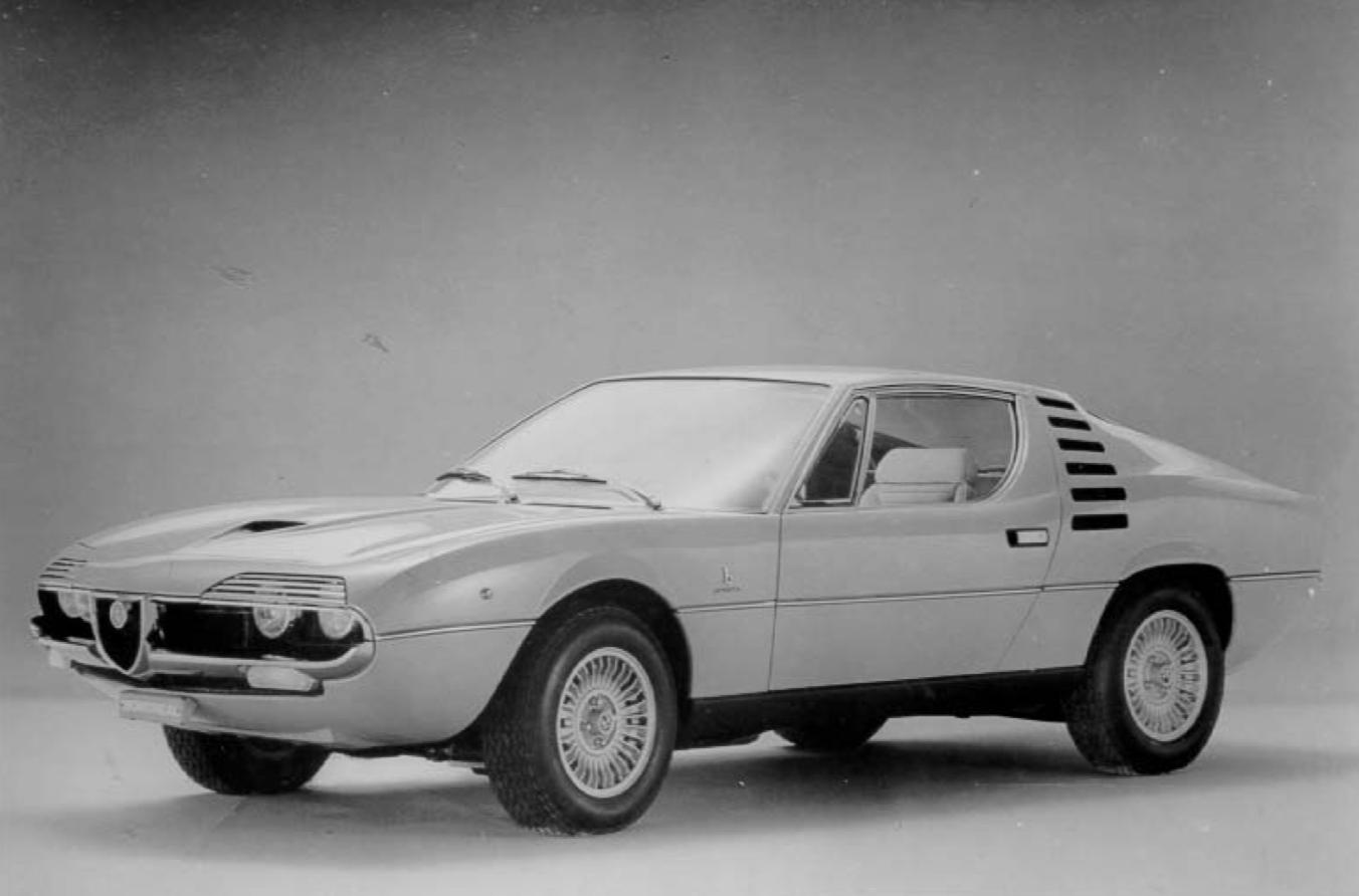 Alfa Romeo Montreal press photos