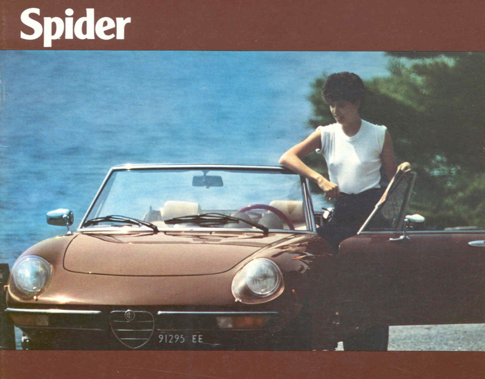Alfa Romeo Spider brochure