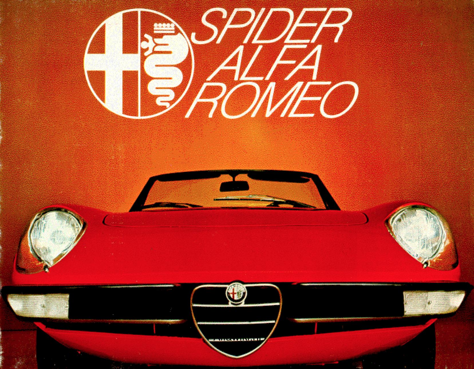 Alfa Romeo Spider Veloce brochure