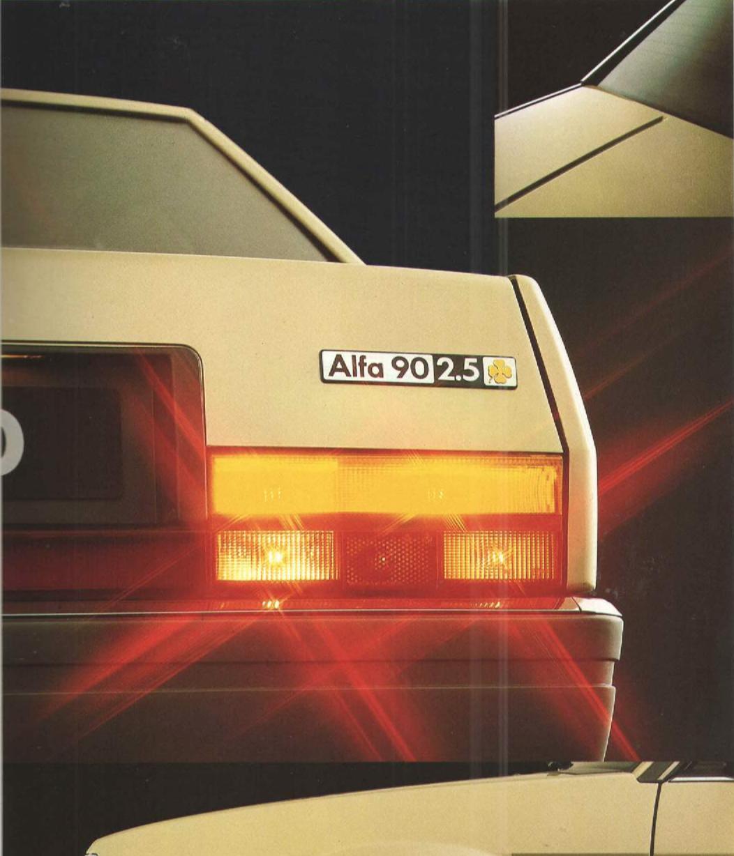Alfa Romeo 90 brochure
