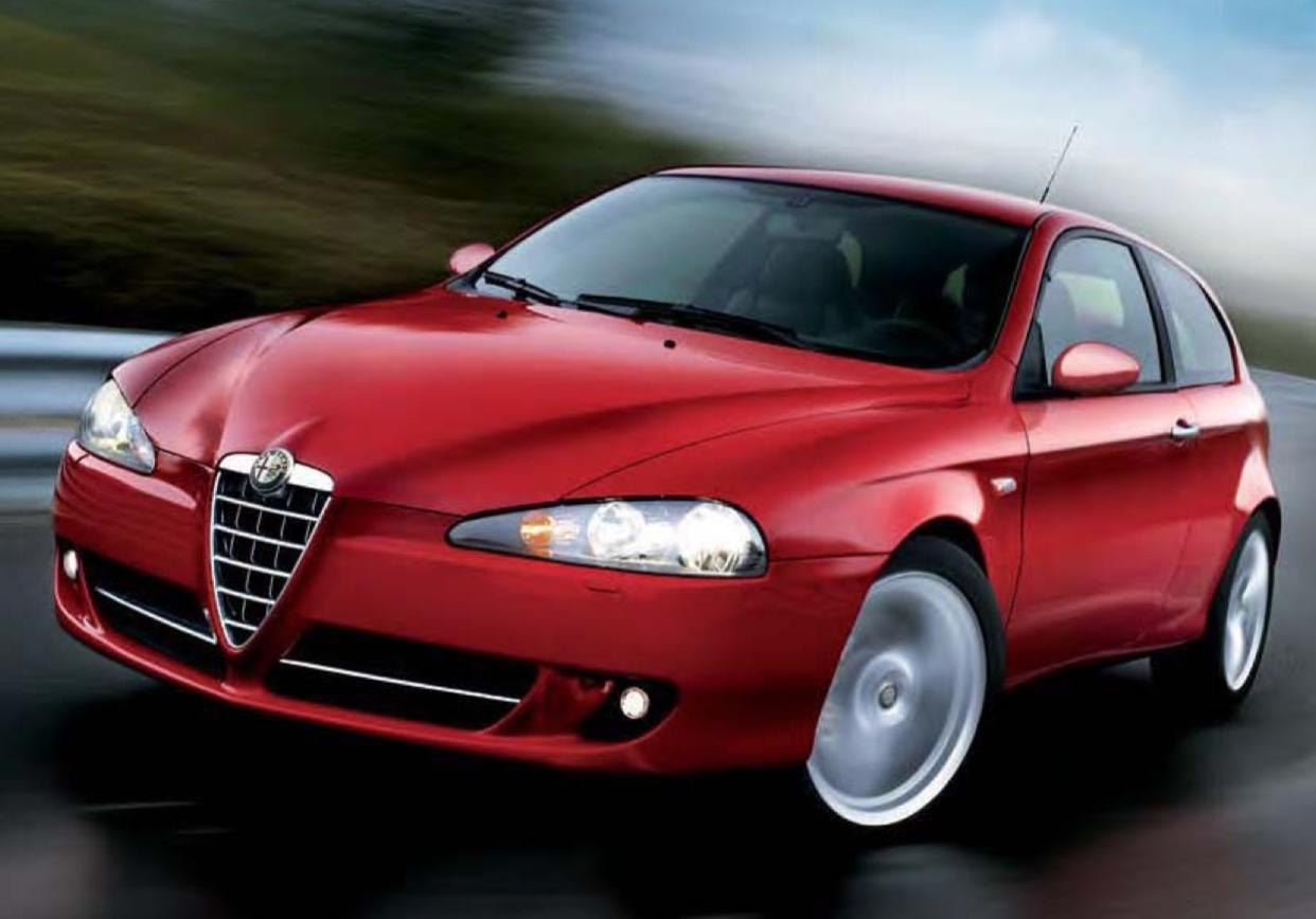 Alfa Romeo 147 brochure