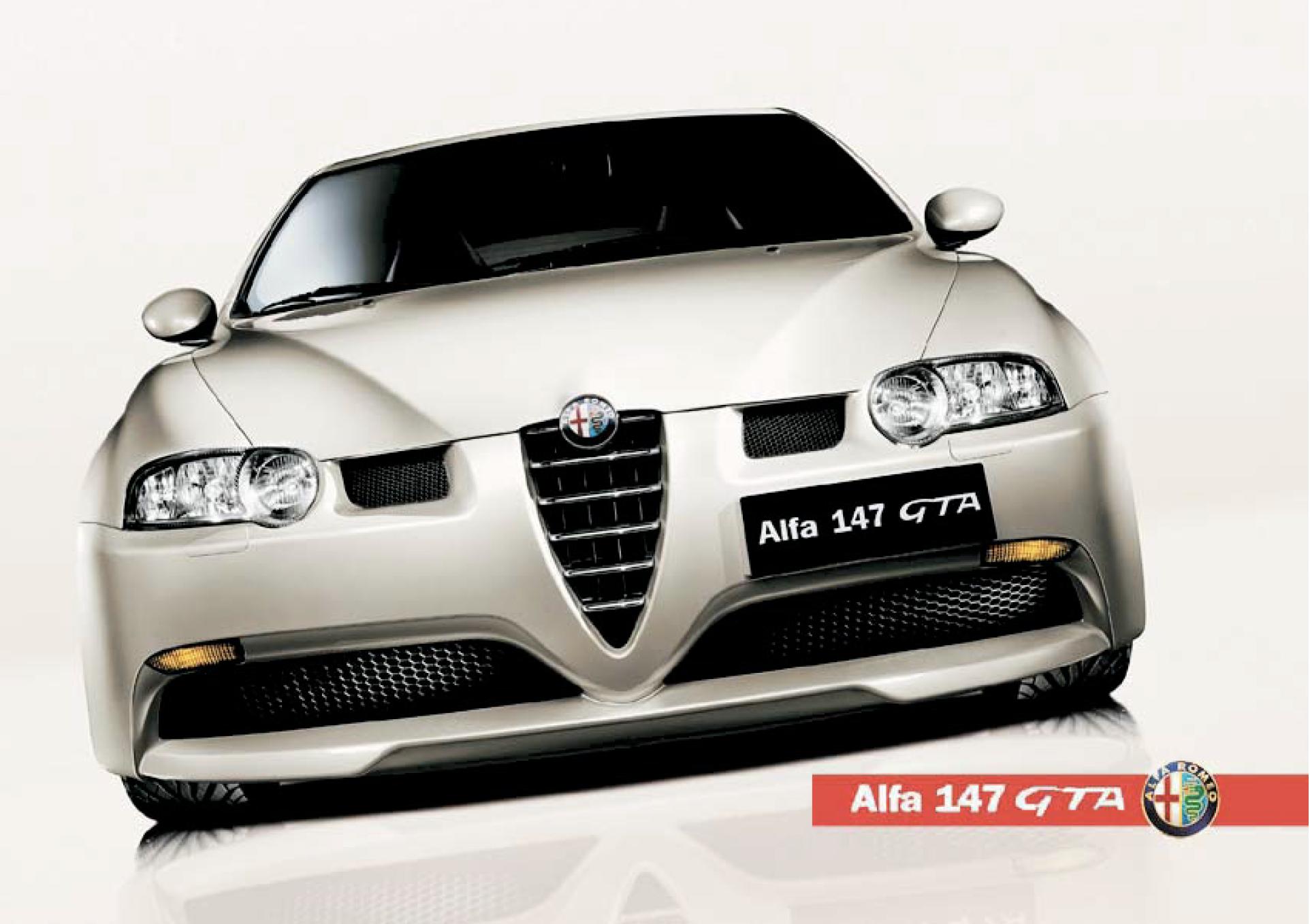 Alfa Romeo 147GTA brochure