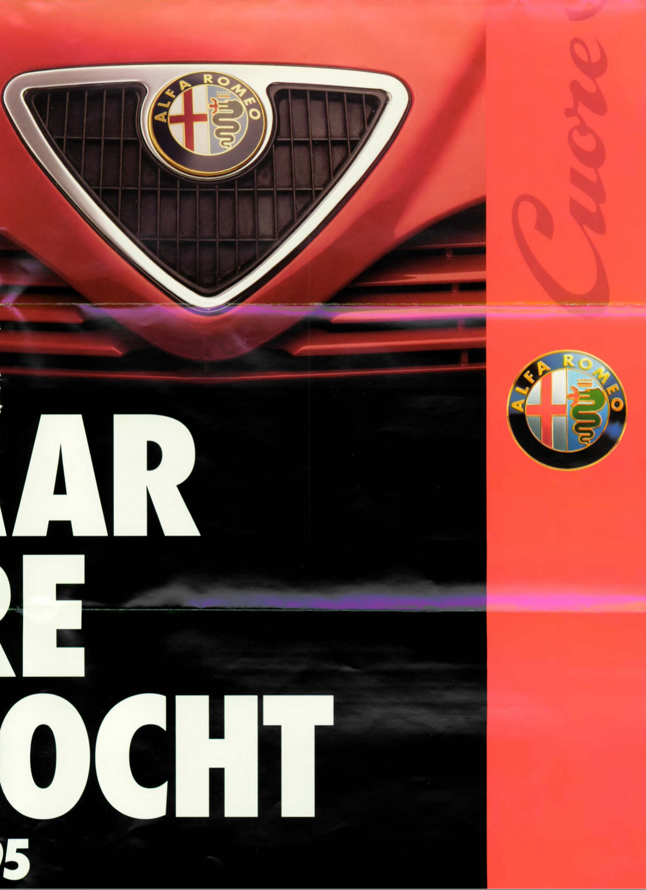 Alfa Romeo 1995 brochure