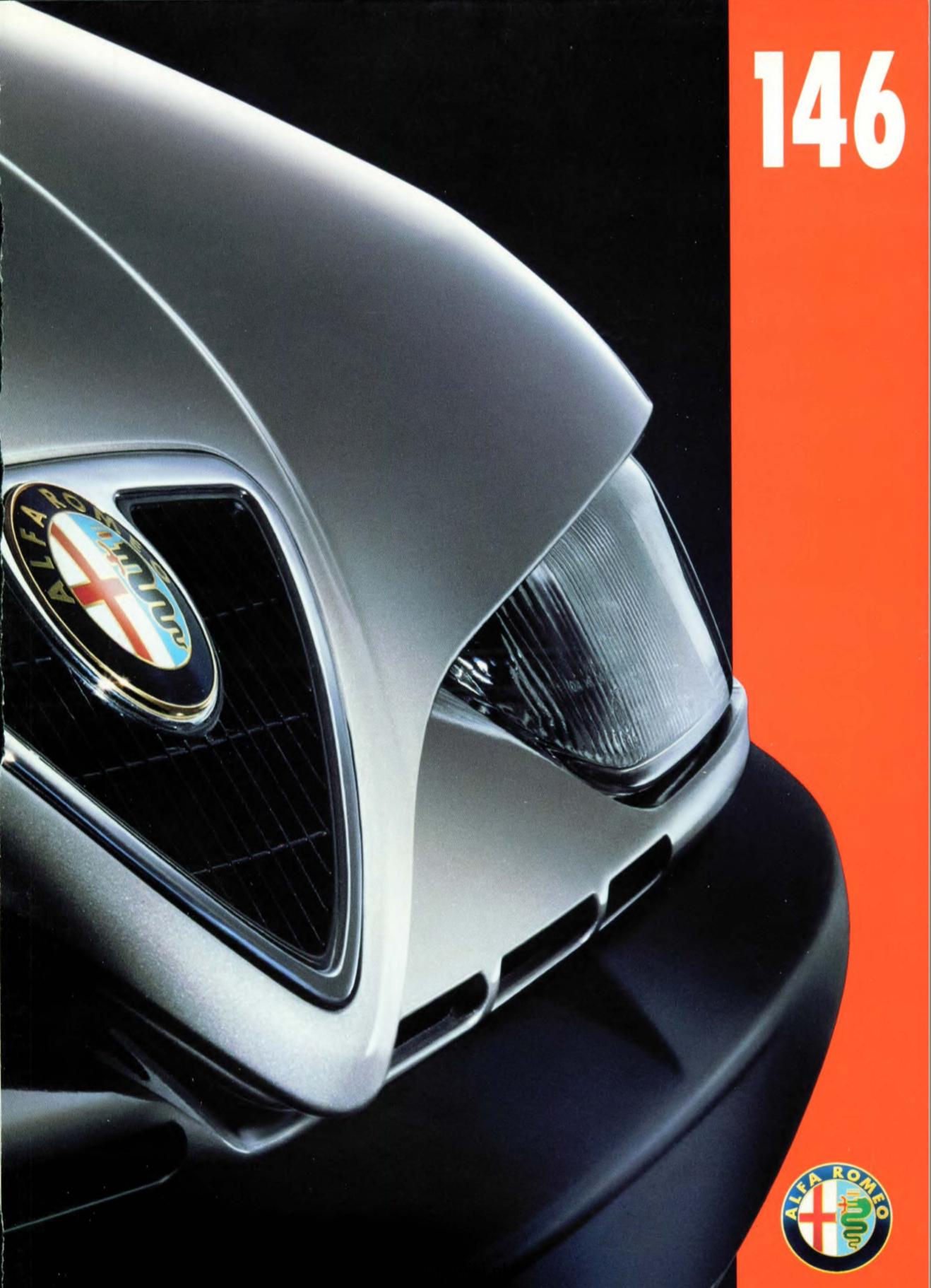 Alfa Romeo 146 brochure