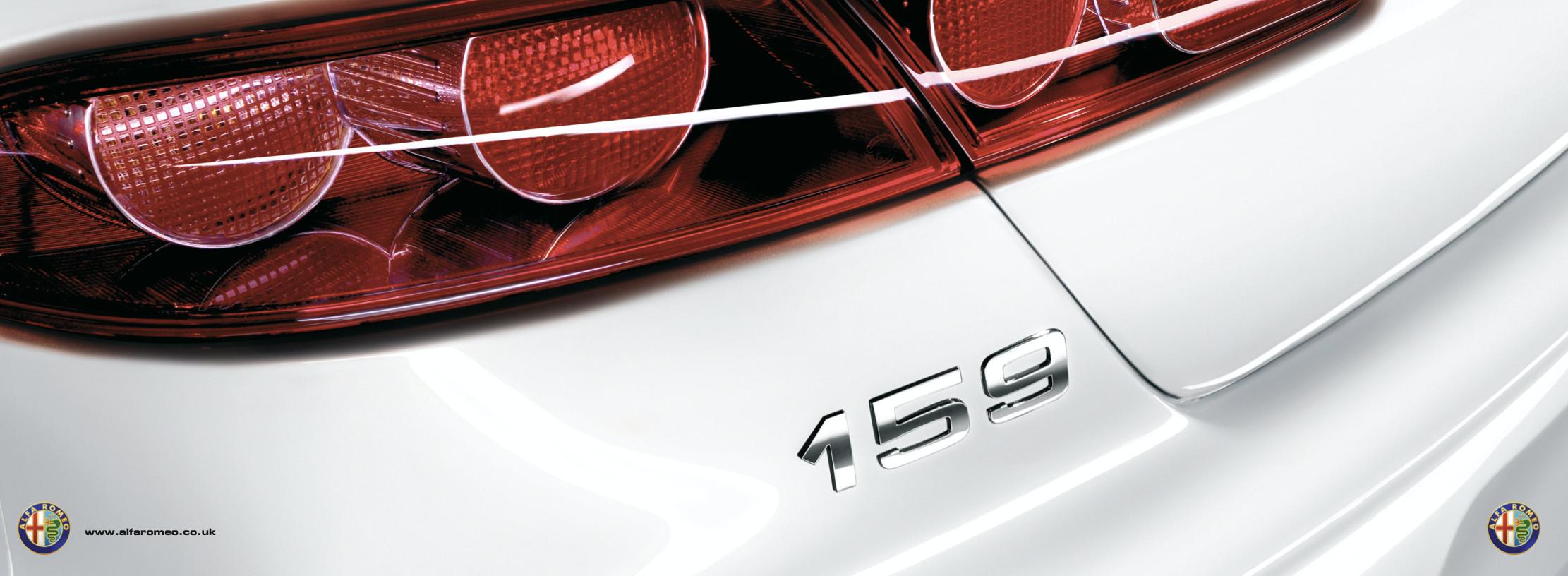 Alfa Romeo 159 brochure