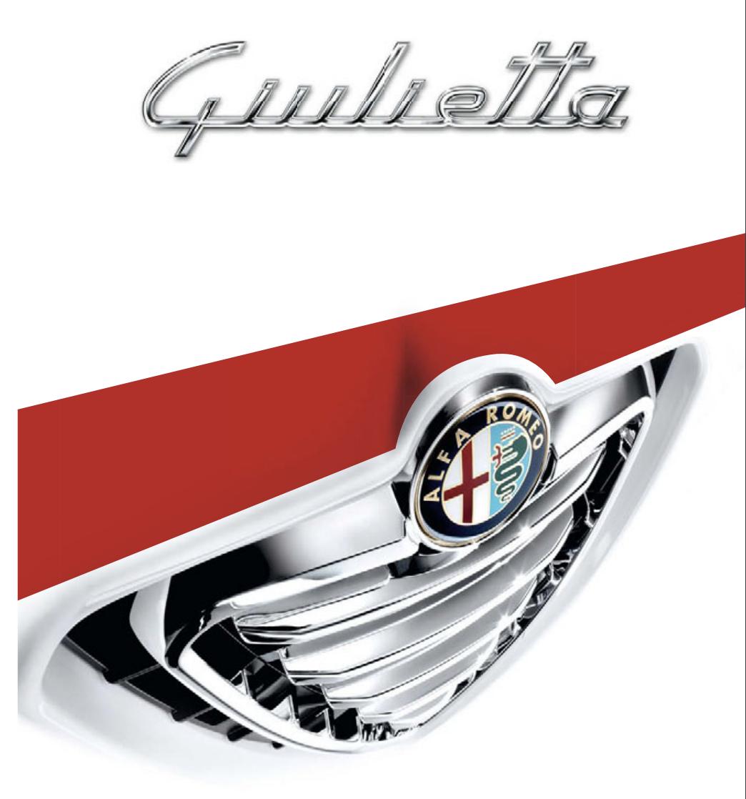 Alfa Romeo Giulietta brochure