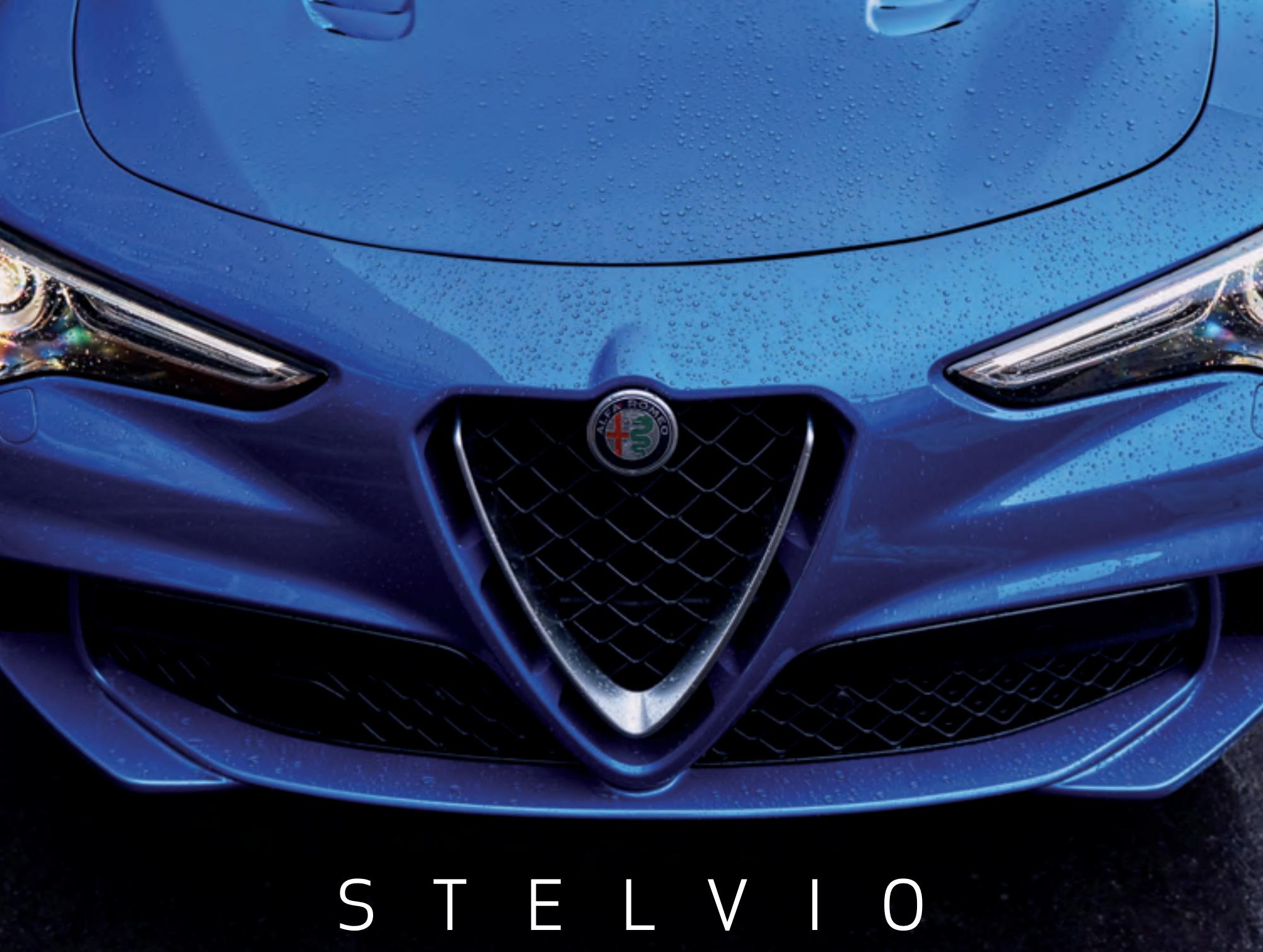 Alfa Romeo Stelvio brochure