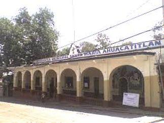 Poblado de Santa María Ahucatitlán