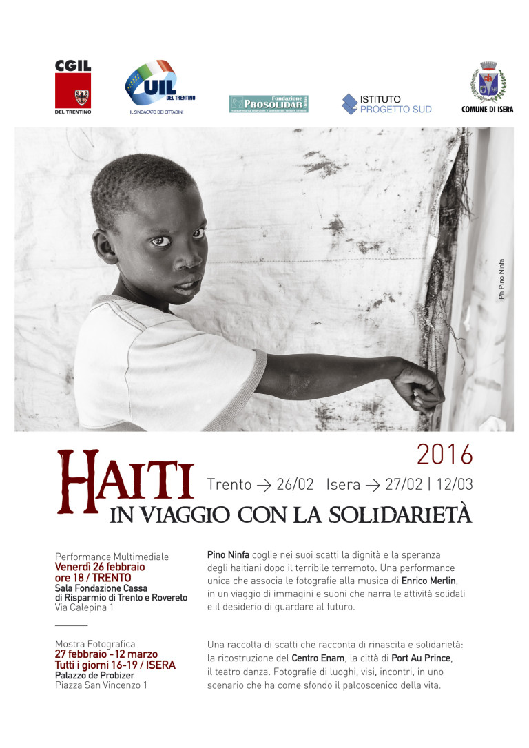 PINO NINFA FOR HAITI