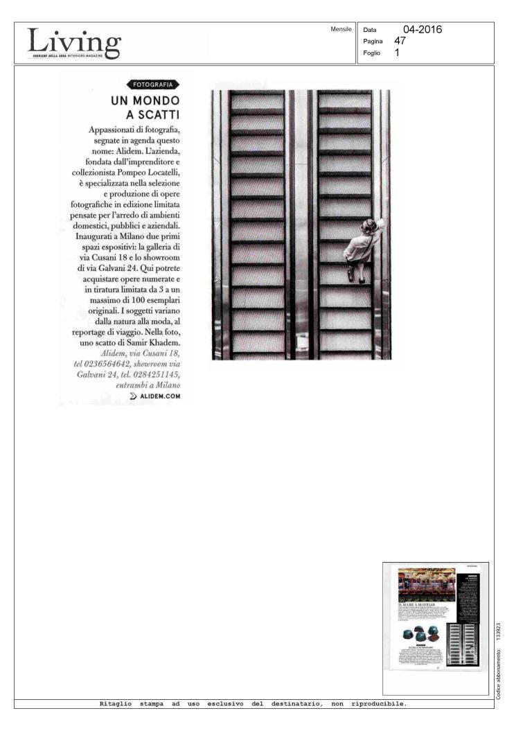 LIVING - rivista del Corriere della Sera