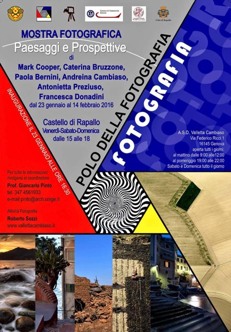 Mark Cooper al Castello di Rapallo