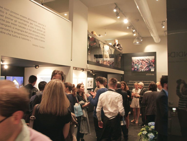 Candido. Some photos of the opening