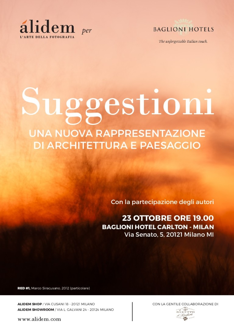 SUGGESTIONI - ALIDEM FOR BAGLIONI HOTELS