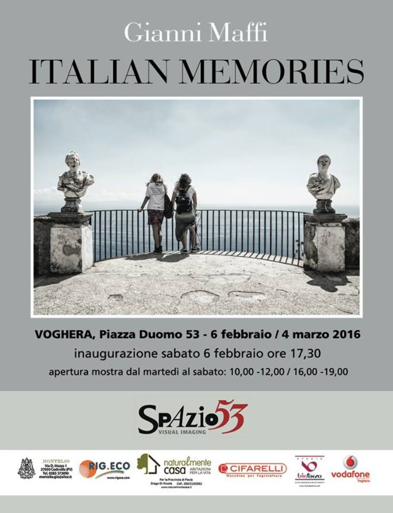 Italian Memories - Gianni Maffi's exhibition