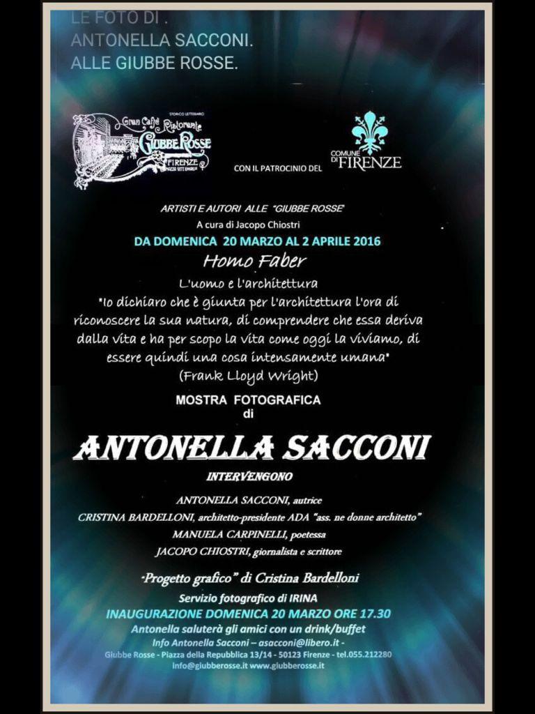 ANTONELLA SACCONI'S SHOW