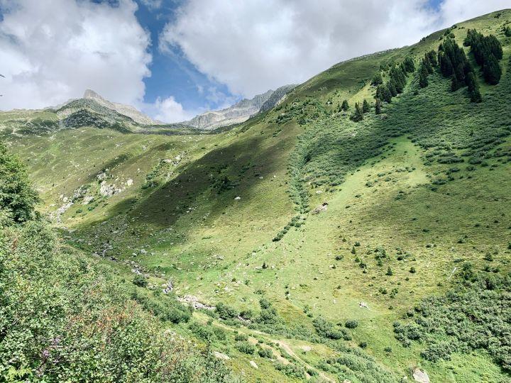Le vallon d'Accletta