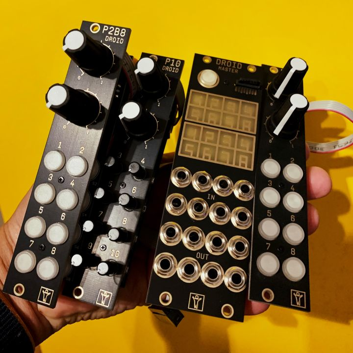 Droid module and expanders