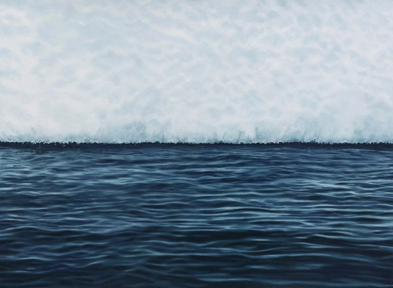 Antartica by Zaria Forman