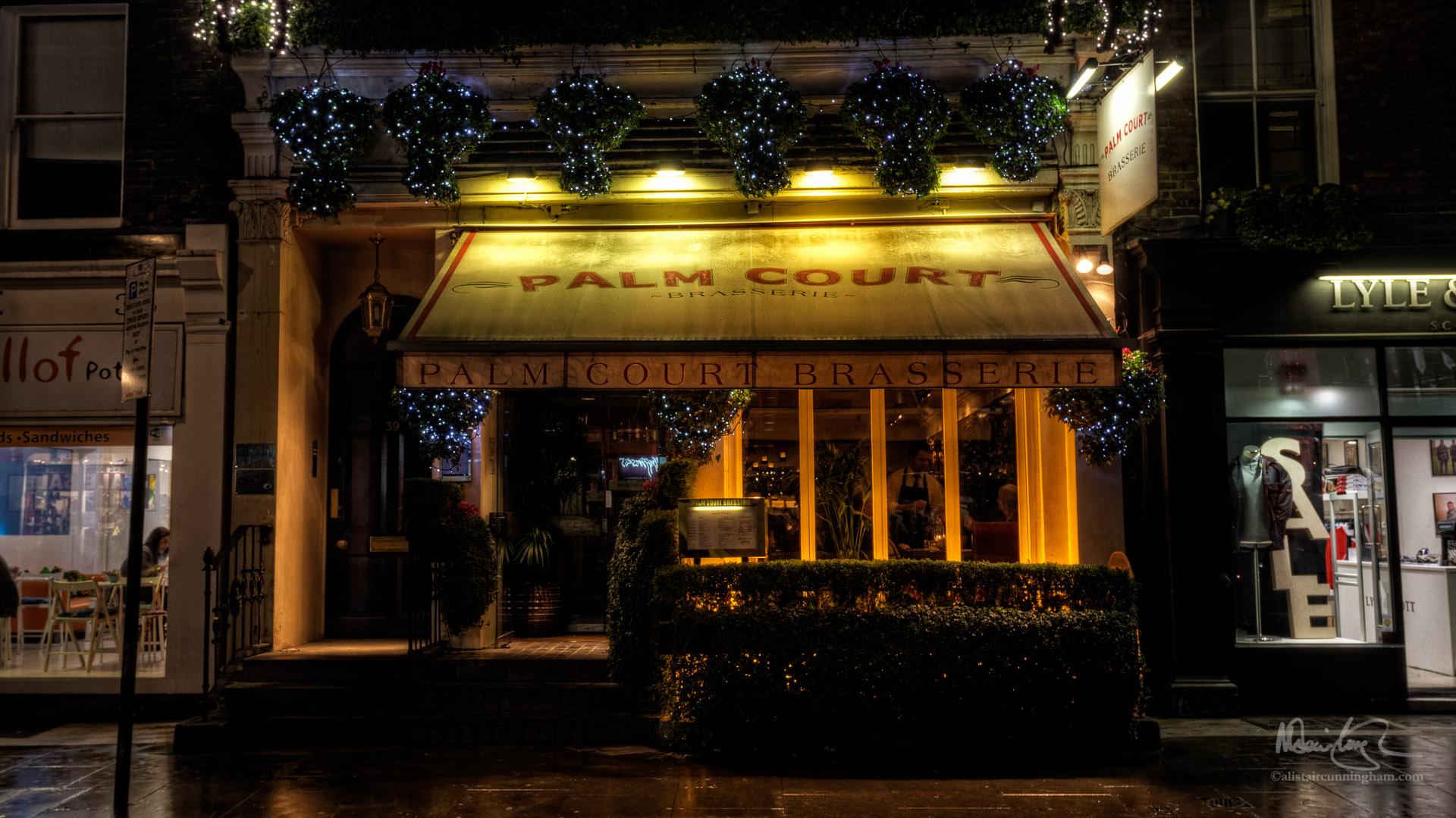 Palm Court Brasserie, Covent Garden