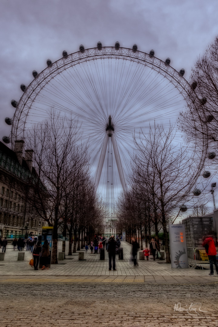 An eye for the London eye, part 4 of 5