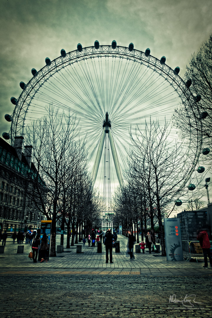 An eye for the London eye, part 3 of 5