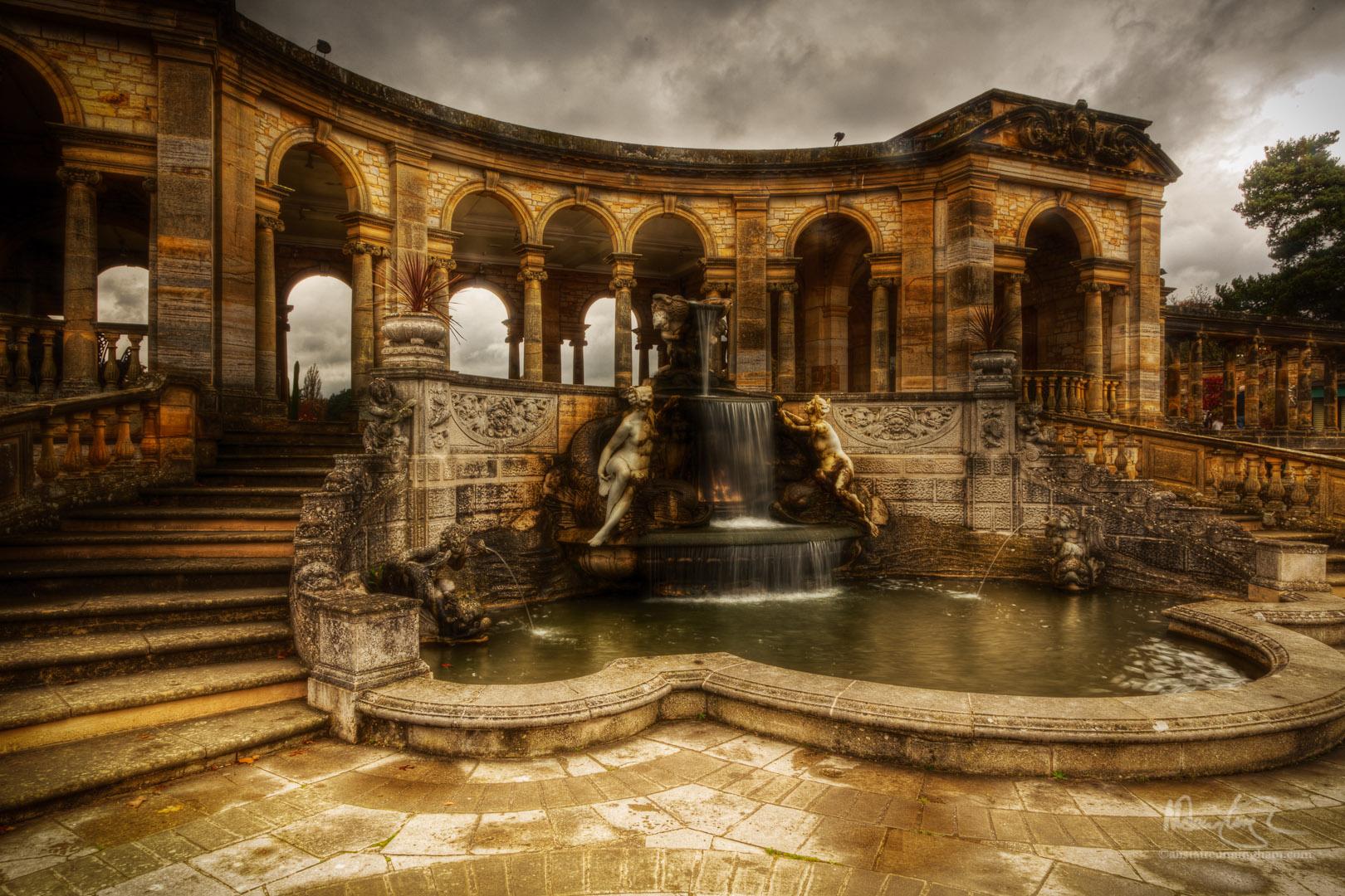 Hever Stone Fountain