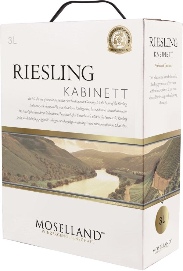 Moselland Riesling Kabinett 2015 hanapakkaus