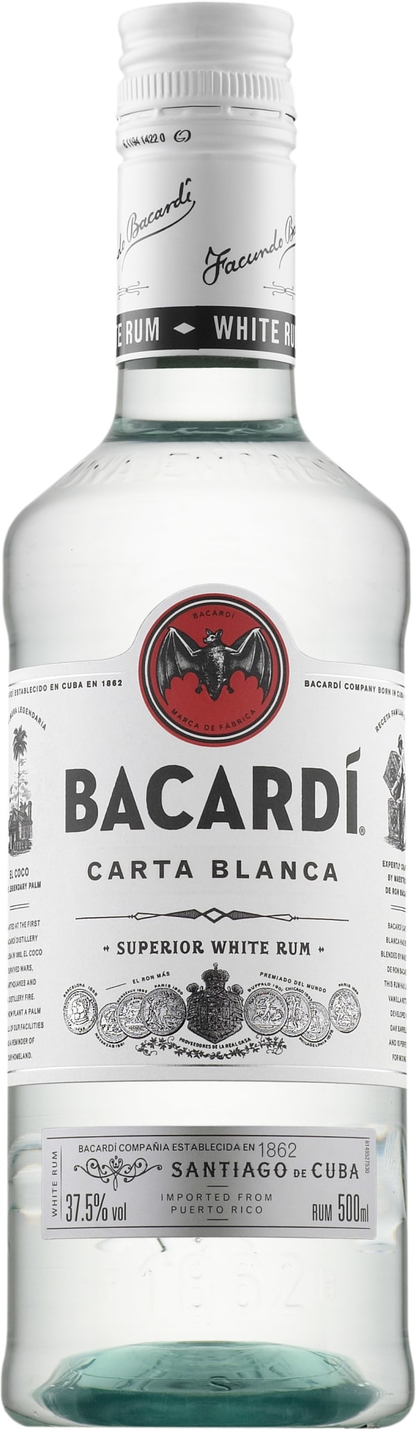 Bacardi Carta Blanca  muovipullo