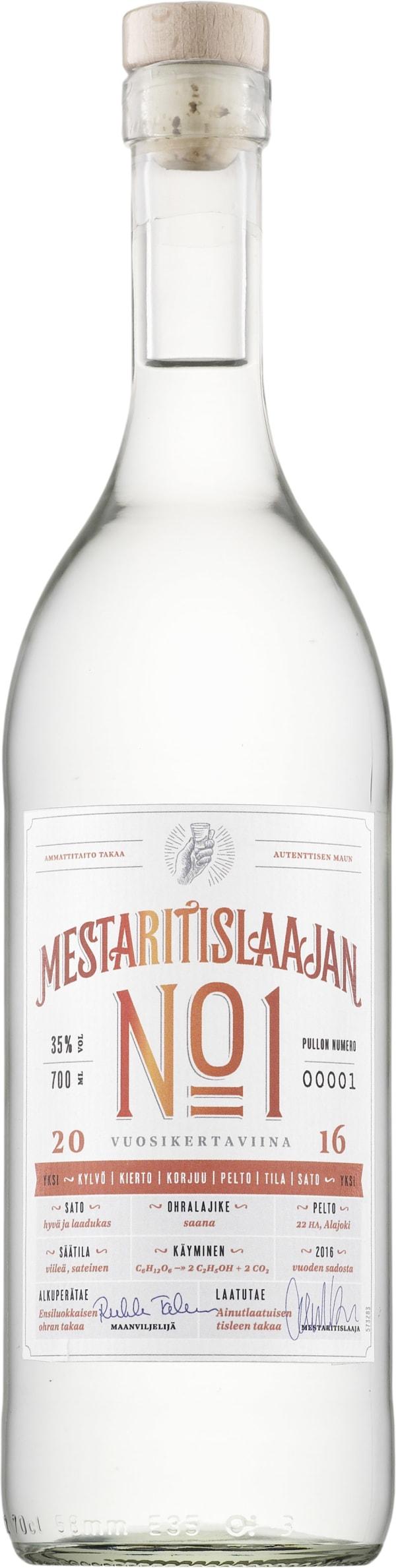 Mestaritislaajan No 1 2016